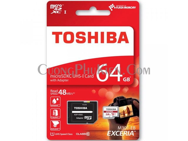 the-nho-64gb-toshiba-chinh-hang